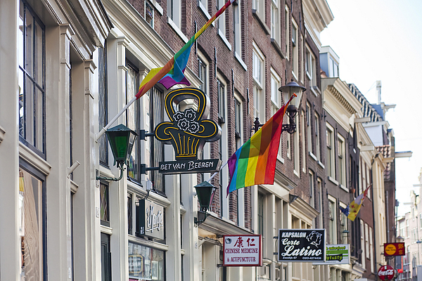 Amsterdam Print by Andre Goncalves