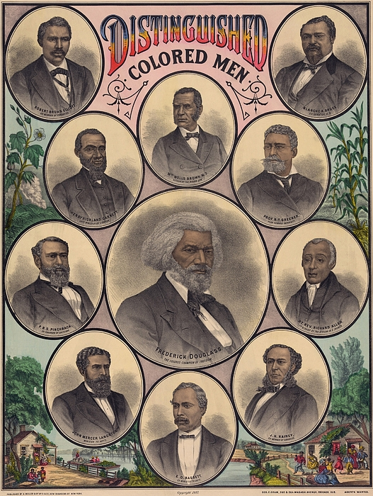 1883 Print Commemorating Print by Everett