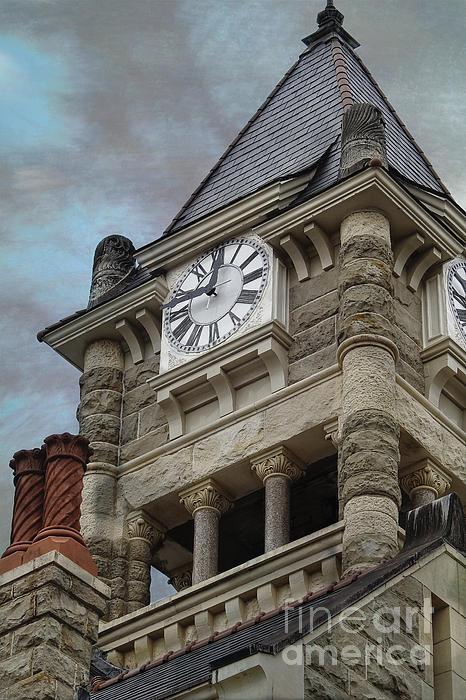 Ella Kaye Dickey - 1892 Historic Clock Tower view 2