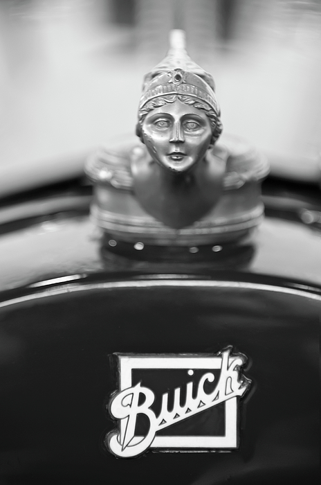 1928 Buick Custom Speedster Hood Ornament 4 Print by Jill Reger