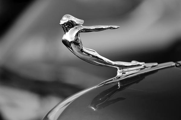 1936 Cadillac Hood Ornament 3 Print by Jill Reger