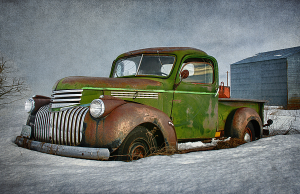 1946 Chevy Truck Print by Reflective Moment Photography And Digital Art Images