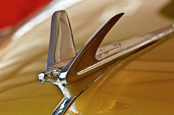 1949 Chevrolet Fleetline Hood Ornament Print by Jill Reger