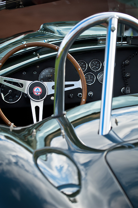 1966 Shelby 427 Cobra Print by Jill Reger