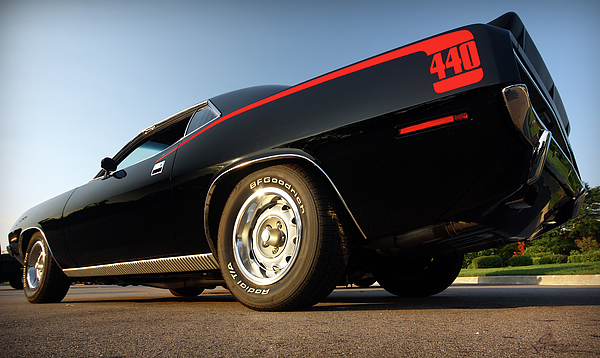 1970 Plymouth 440 'cuda Print by Gordon Dean II