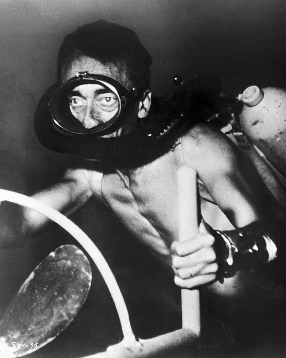 Jacques Cousteau (1910-1997) Print by Granger