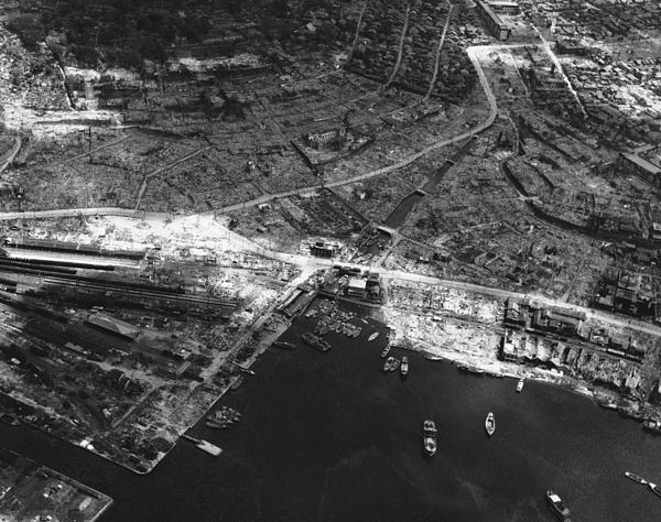 Nagasaki, 1945 Print by Photo Researchers