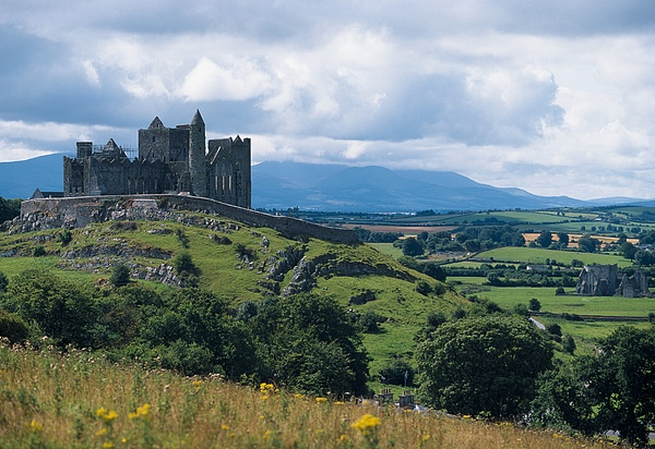 Rock Of Cashel, Co Tipperary, Ireland Print by The Irish Image Collection