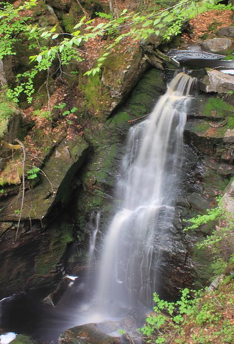 Royalston Falls By John Burk