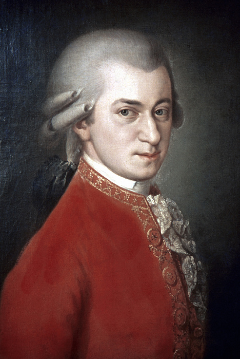 Wolfgang Amadeus Mozart Print by Granger