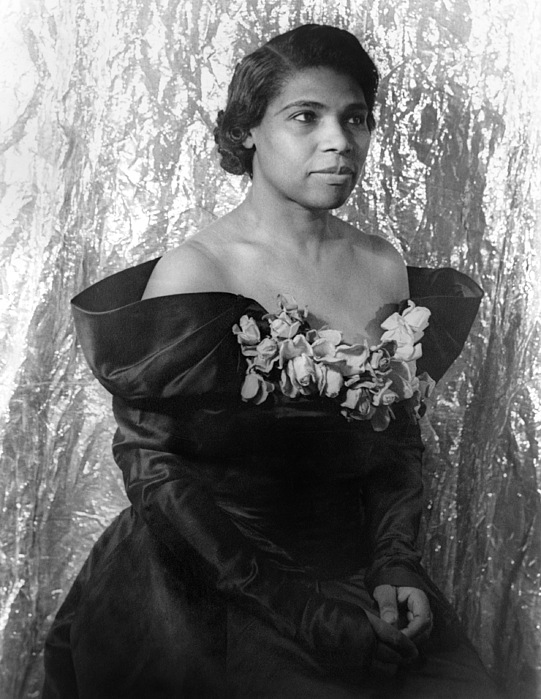 Marian Anderson (1897-1993) Print by Granger