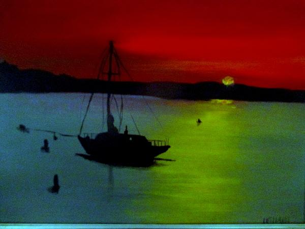 Allen N Lehman - Resting Sails