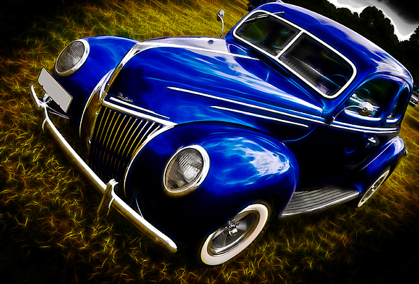 39 Ford V8 Coupe Print by Phil 'motography' Clark