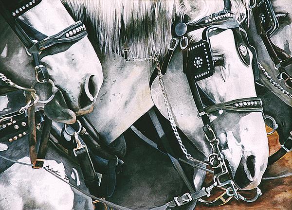 4 Grays Print by Nadi Spencer
