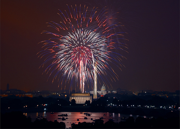 4th Of July, 2008 Print by Granger