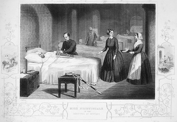 Florence Nightingale Print by Granger
