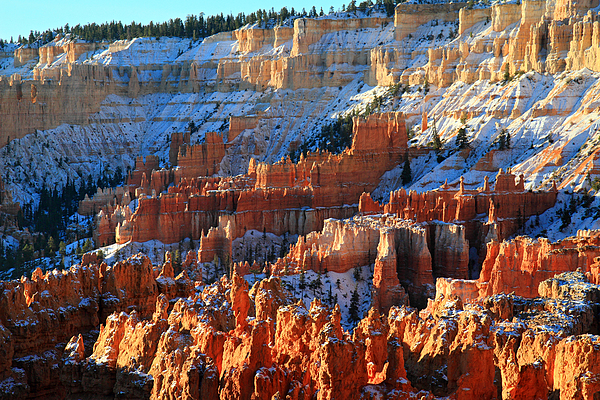 Sunset Point In Bryce Canyon Print by Pierre Leclerc Photography