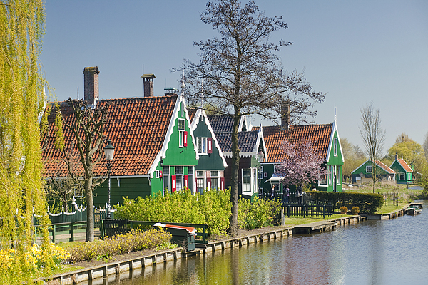 Zaanstad Print by Andre Goncalves