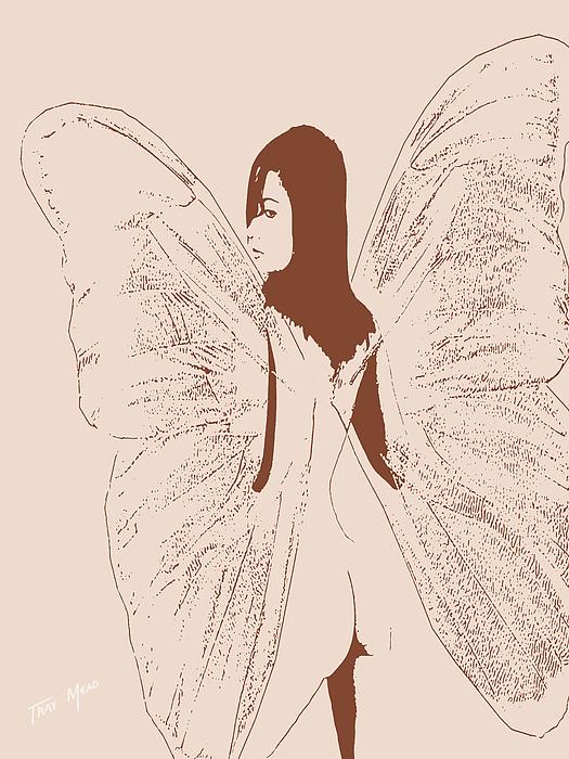 A Backward Look Print by Tray Mead