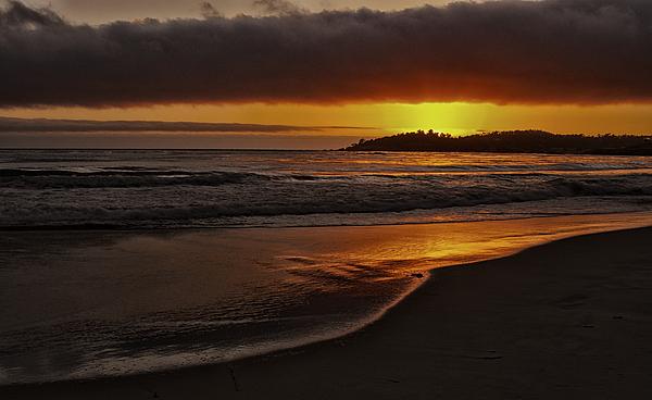Kurt Golgart - A Carmel sunset
