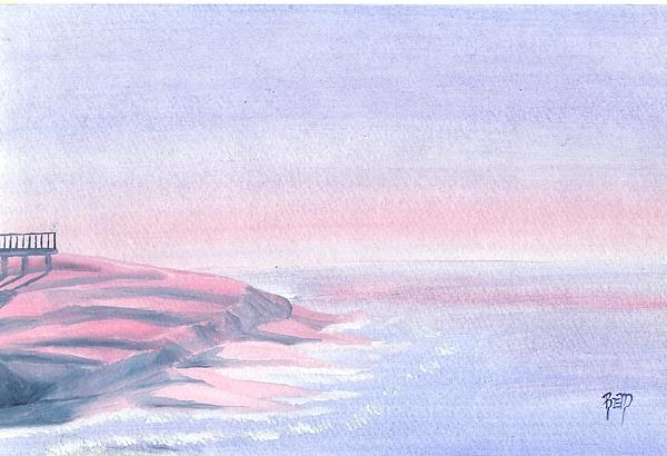A Sunrise In Paradise... Print by Robert Meszaros