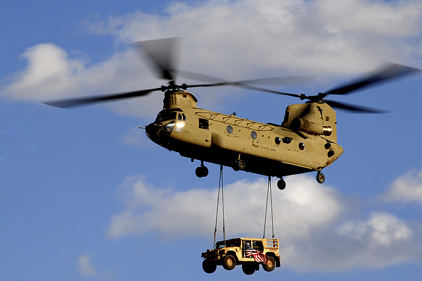 A U.s. Army Ch-47 Chinook Helicopter Print by Stocktrek Images