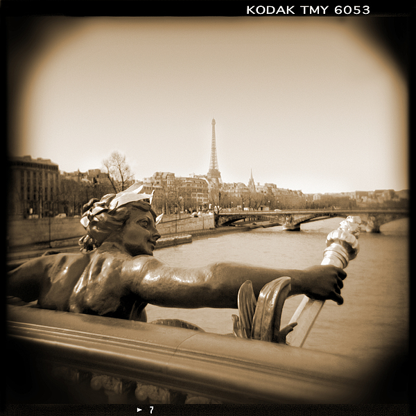 A Walk Through Paris 7 Print by Mike McGlothlen