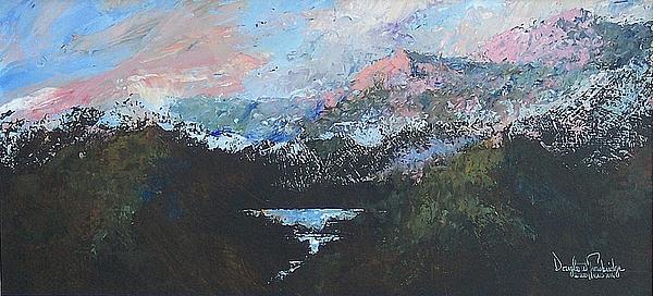 A Wilderness View Print by Douglas Trowbridge