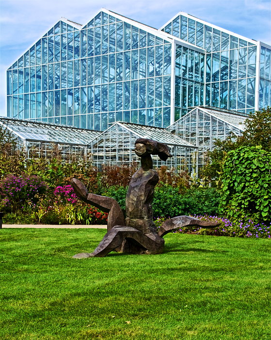 A Woman Sculpture In Frederik Meijer Gardens And Sculpture Park In Grand Rapids Michigan By Ruth