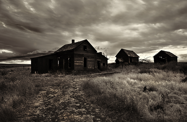 Abandoned Print by Mike  Dawson