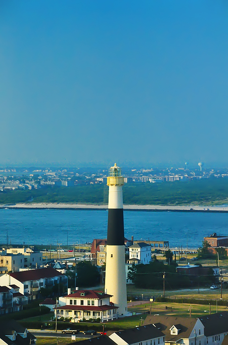 Absecon Lighthouse Atlantic City Print by Bill Cannon