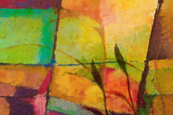 Abstract Art Primavera Print by Lutz Baar