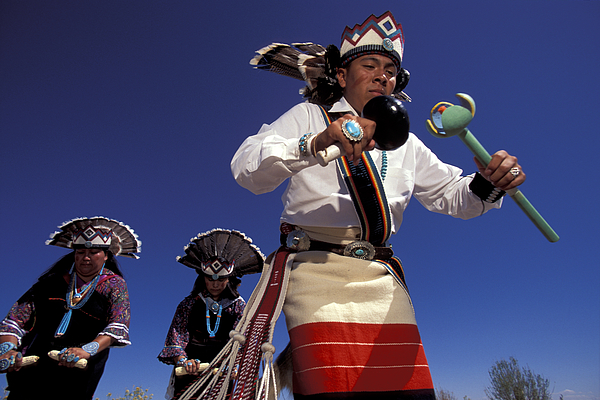 Acoma dancers by christian heeb for Christian heeb