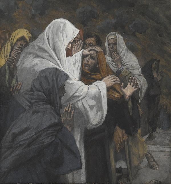 Address To Saint Philip Print by Tissot
