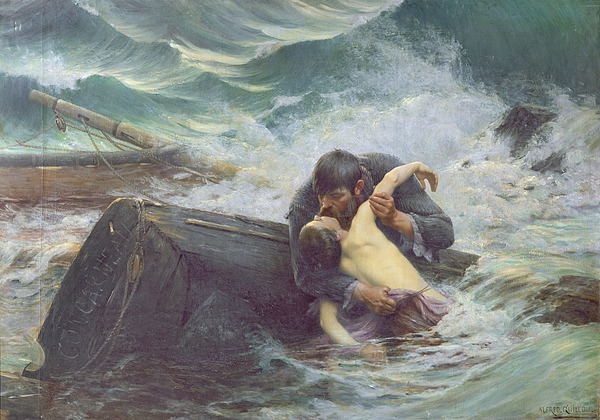 Adieu Print by Alfred Guillou