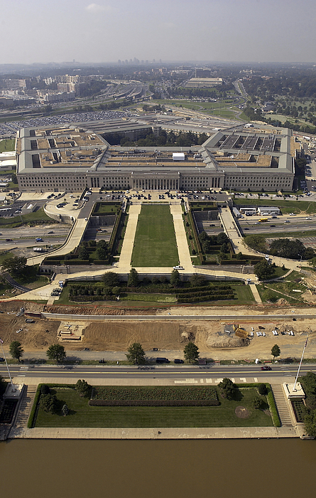 Aerial Photograph Of The Pentagon Print by Stocktrek Images