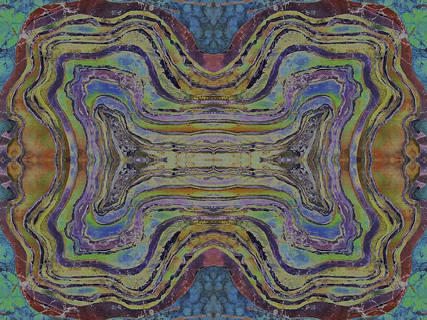 Agate Inspiration - 24c Print by Sue Duda