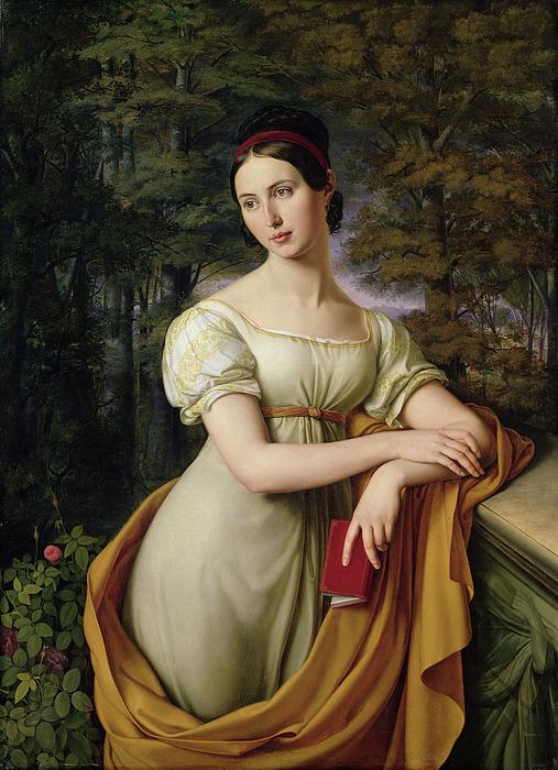 Agnes Rauch Print by Wilhelm Schadow