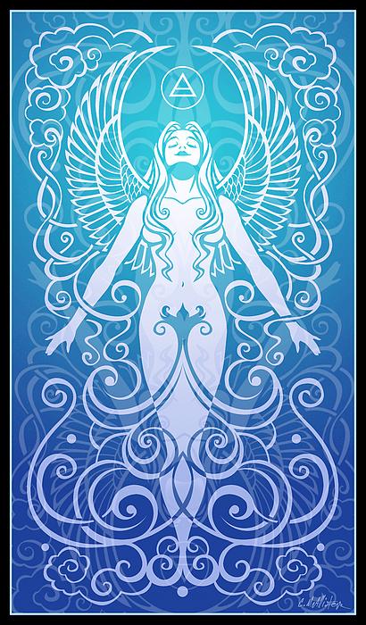 Air Spirit Print by Cristina McAllister