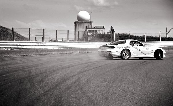 Airfield Drifting Print by Andy Smy