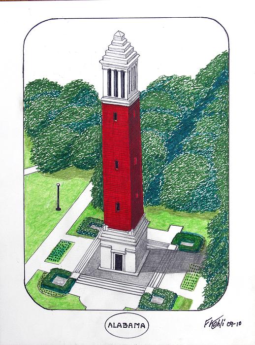 Alabama Print by Frederic Kohli