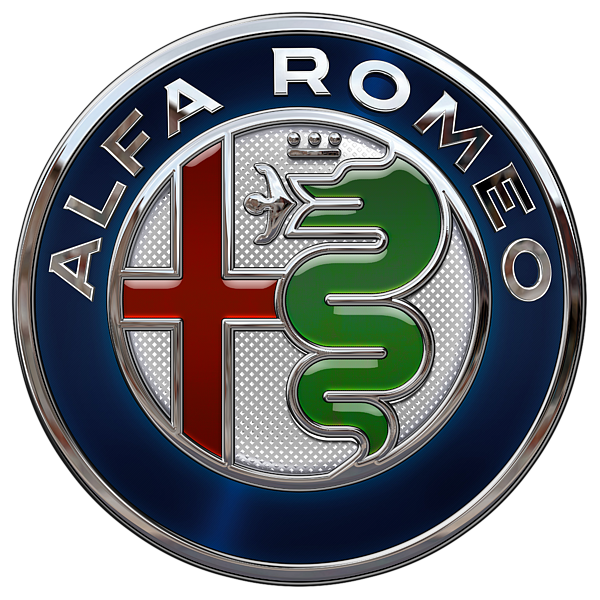 Alfa Romeo New 2015 3 D Badge Special Edition On Blue T
