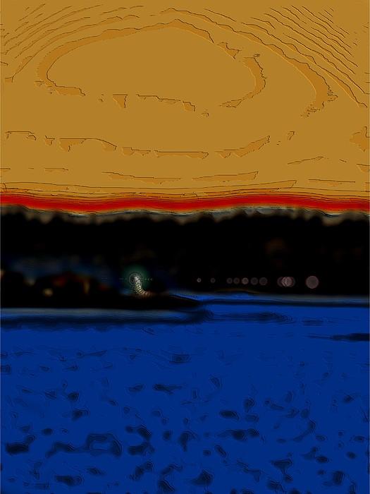 Alki Lighthouse Print by Tim Allen