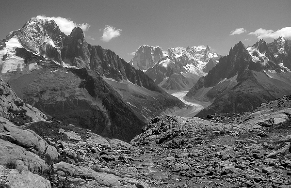 Mo Barton - Alpine View From Lac Blanc French Alps 2