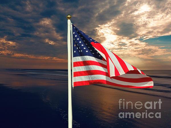 Mim White - American Flag