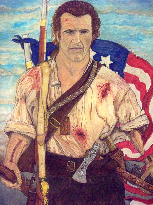 American Patriot Print by Jose Cabral
