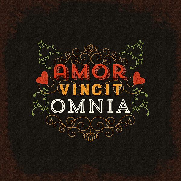 amor vincit omnia by antique images. Black Bedroom Furniture Sets. Home Design Ideas