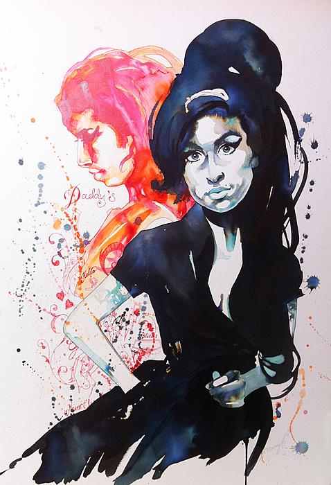 Amy II Print by Samantha Baguley