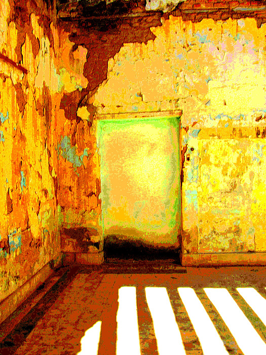 Ancient Wall 8 By Michael Fitzpatrick Print by Olden Mexico