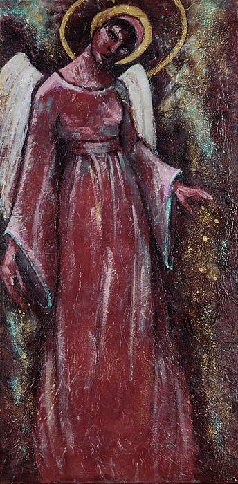 Angel Judy Print by Mary DuCharme